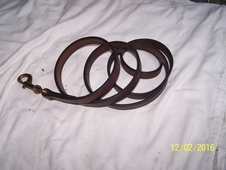 Leather Lead w/o Chain