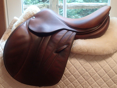"Gorgeous 16"" Butet Premium Full Calfskin Saddle 2012"
