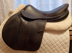 "18"" Devoucoux Biarritz Saddle 2007 3A"