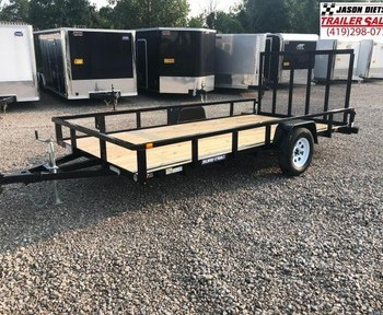 2018 Sure-Trac 7X14 Tube Top Utility.... STOCK# ST-226382