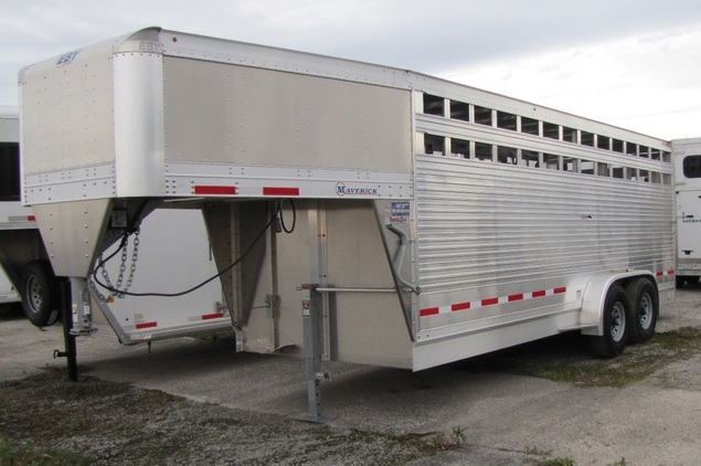 EBY 7'x20' Maverick All Aluminum Stock Trailer