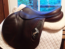 "Beautiful 18"" CWD 2Gs Saddle 2013 4C"