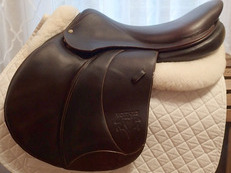 "18.5"" Voltaire Palm Beach Full Buffalo Saddle 2012 4AAAR"