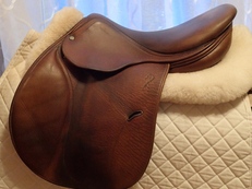 "17"" Antares Full Buffalo Saddle 2008"