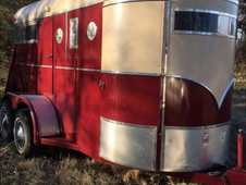 Affordable and Pretty 2 Horse BP Trailer - Motivated Seller