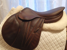 "17.5"" Butet Premium Full Calfskin Saddle 2015"