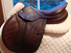 "Beautiful 17"" CWD Full Buffalo Saddle 2011 2L"