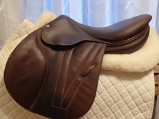 "17.5"" Butet Premium Full Calfskin Saddle 2015 P 2.25"