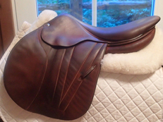"Beautiful 18"" Butet Premium Full Calfskin Saddle 2012"