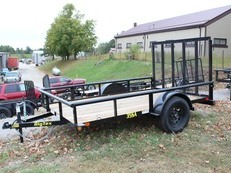 2019 BIG TEX 35SA 6'6 X 10' UTILITY TRAILER