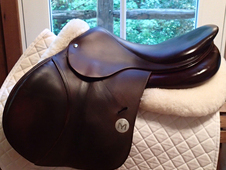 "Beautiful and VERY RARE 17. 5"" Meyer Saddle 2015"