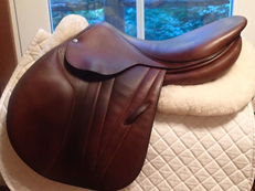 "Elegant 18"" Butet Premium Full Calfskin Saddle 2011"