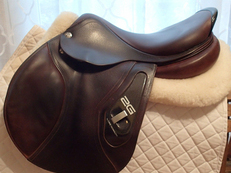"Beautiful 17.5"" CWD 2G Saddle 2012 3C"