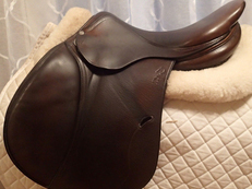 "17.5"" Full Buffalo Antares Saddle 2005 5AB"