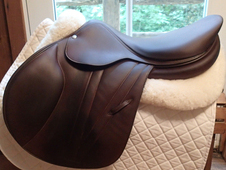 "Remarkable 18"" Butet Premium Full Calfskin Saddle 2016 3. 25 M"