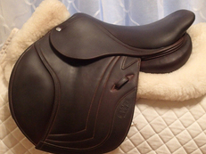 "14.5"" CWD Full Buffalo Pony Saddle 2013"