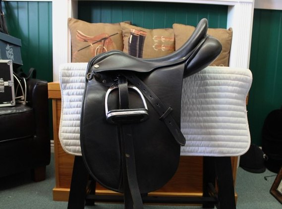 Klimke Dressage Saddle 17.5