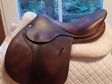 "Lovely 17. 5"" Butet Saddle 2011"