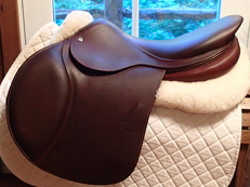 "Pristine NEW CONDITION 18"" PJ Pro Saddle 2012"