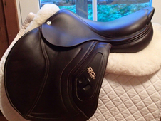 "Totally stunning 17.5"" CWD Hunter 2Gs Full Buffalo Saddle 2015 3L"