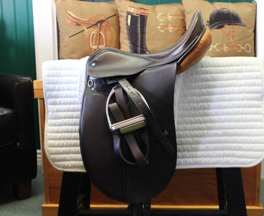 Tony Slatter Youth Dressage Saddle 15.5