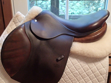 "Lovely 17. 5"" CWD Saddle 2011 3C"