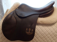"17"" PJ Bruno Delgrange Partition Saddle 2008"