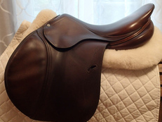 "17.5"" Antares Full Buffalo Saddle 2008 3A"