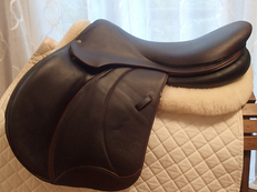 "19"" Voltaire Palm Beach Full Buffalo Saddle 2012 3AR"