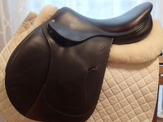 "17.5"" Antares Full Buffalo Saddle 2011 5AB"