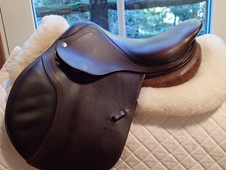 "Beautiful 15. 5"" CWD Saddle 2007 0L"