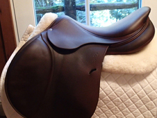 "Gorgeous 18"" Antares Contact Saddle 2013 4AAB"
