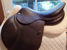"RIDDEN IN 5 TIMES MAX 18"" CWD Saddle 2016 3C"