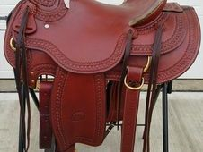 "15"" Original Billy Cook Wade Tree Ranch Saddle Brand New"