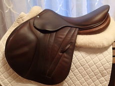 "17.5"" Butet Premium Full Calfskin Saddle 2012 M 2.5"