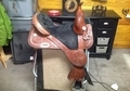 Circle Y Tammy Fischer Treeless Barrel Saddle
