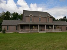 Finger Lakes, NY Equestrian Center w/ Custom Country Home