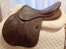 "17.5"" Bruno Delgrange Virtuose Full Calfskin Saddle 2012"