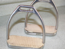 English Fillis style Stirrup Irons and Flexible / Jointed stirrup...