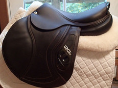 "Stunning 17.5"" CWD 2Gs Full Buffalo Saddle 2016 3C"