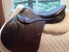 "Beautiful 17. 5"" Devoucoux Socoa Saddle 2010 2A"