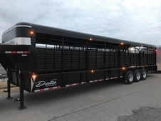 New 2017 Stock Trailer 32ft x 7ft 6 Wide * 8K Axles