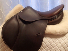 "15.5"" Antares Full Buffalo Saddle 2013 00"