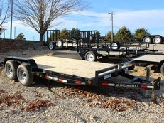 "2018 Norstar Iron Bull 83"" x 14+2 Equipment Trailer"
