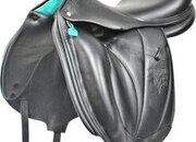 Voltaire Adelaide Monoflap Dressage Saddle, 18ins / Wide - 5161-1