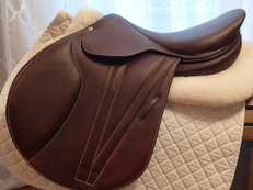 "17.5"" Butet Premium Full Calfskin Saddle - BRAND NEW!!! 2015"