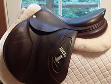 "Gorgeous 17. 5"" CWD 2Gs Saddle 2015 2L"