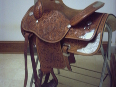 Circle Y show saddle--look again!