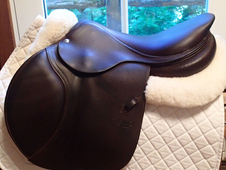 "Gorgeous and pristine 17. 5"" CWD Saddle 2014 3C"