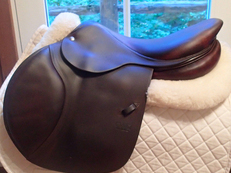 "Lovely 17.5"" CWD Saddle 2013 3C"